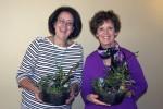 Gina, Linda winners of door prizes