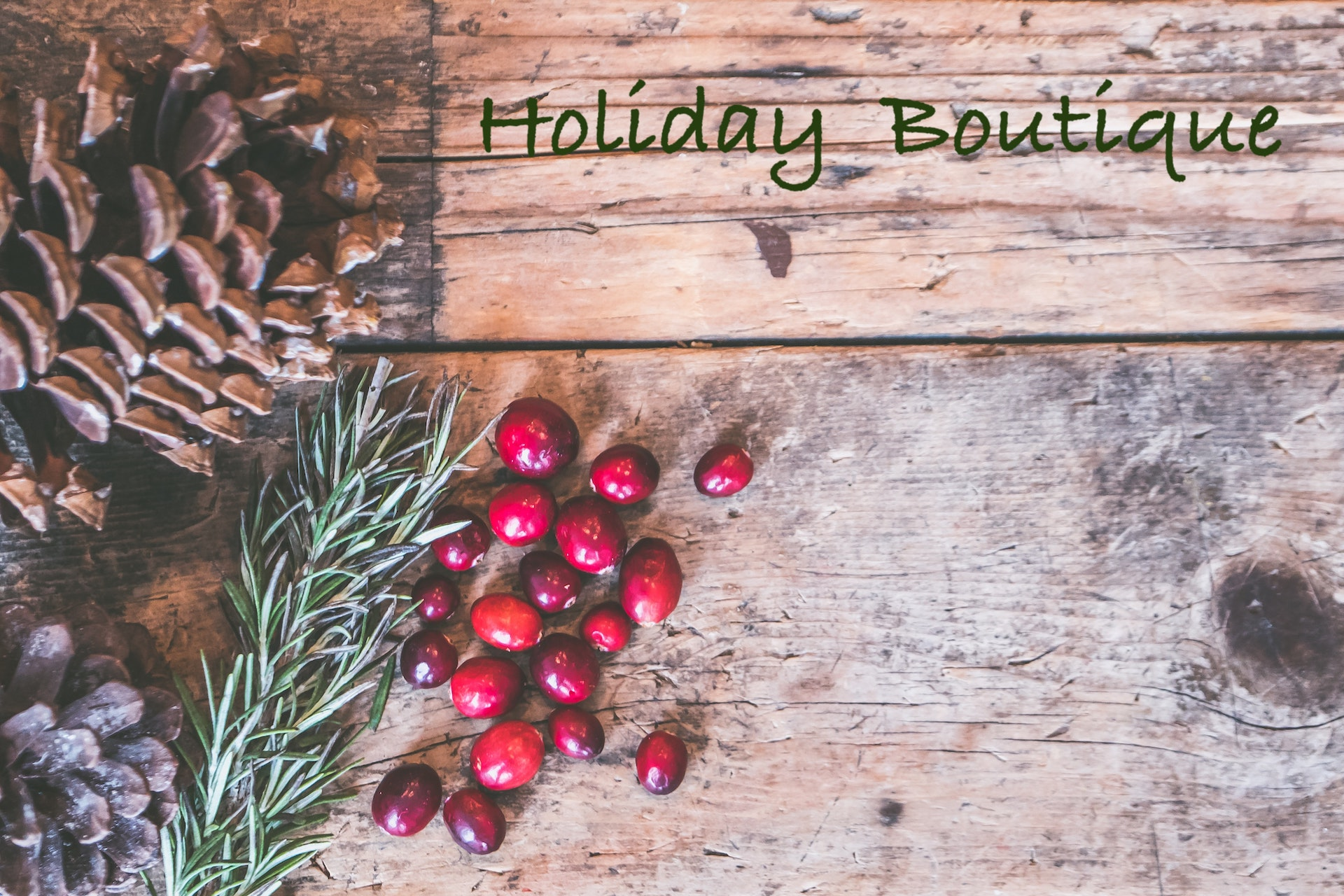 Holiday Gathering and Boutique
